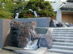 Waterfall at Bena Roya Hall