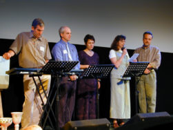Part of the Worship Team at Cross Sound
